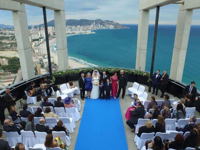 La boda de Jorge  y Stela  en Benidorm, Alicante 1