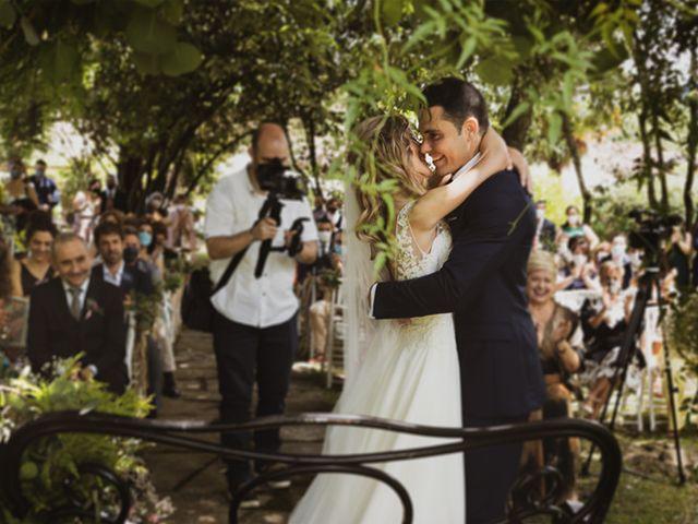 La boda de Jon y Leire en Gordexola, Vizcaya 41