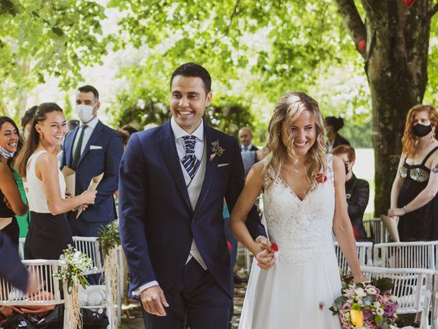La boda de Jon y Leire en Gordexola, Vizcaya 44