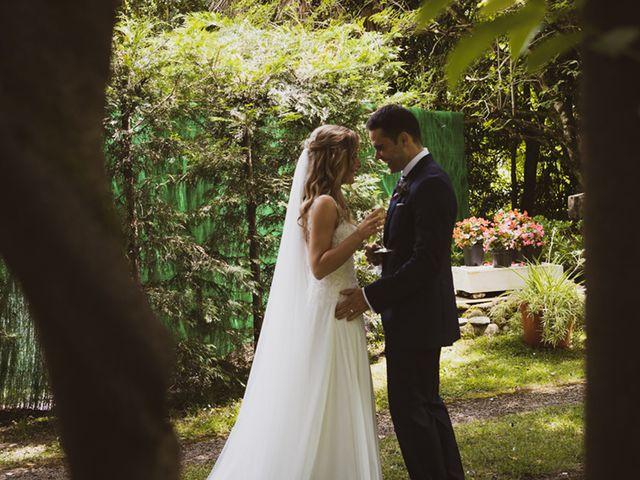La boda de Jon y Leire en Gordexola, Vizcaya 1