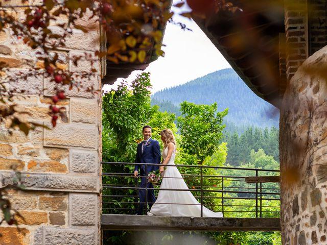 La boda de Jon y Leire en Gordexola, Vizcaya 65