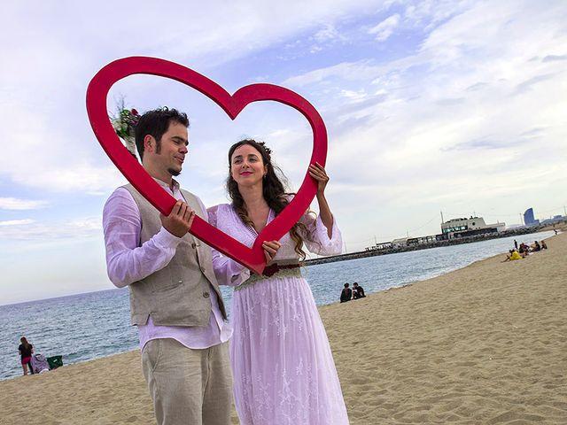 La boda de Joaquim y Keka en Barcelona, Barcelona 27
