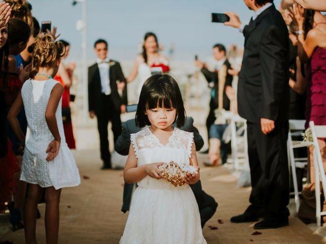 La boda de Alexis y Vanida en Arenys De Mar, Barcelona 34