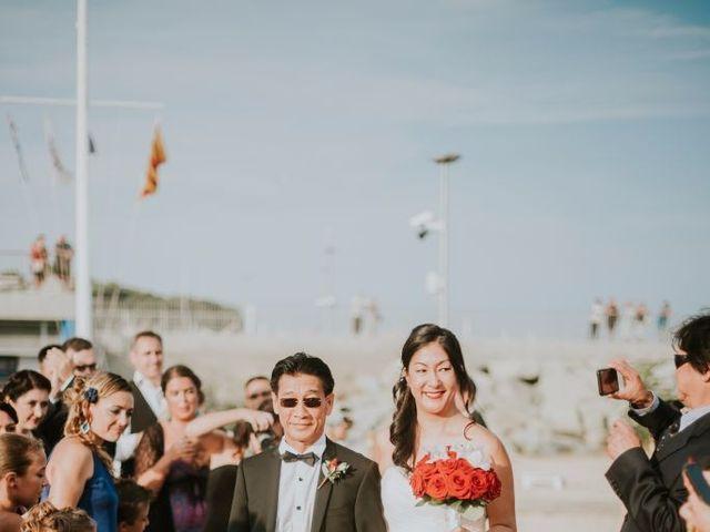 La boda de Alexis y Vanida en Arenys De Mar, Barcelona 35