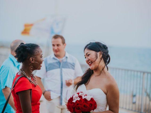La boda de Alexis y Vanida en Arenys De Mar, Barcelona 51