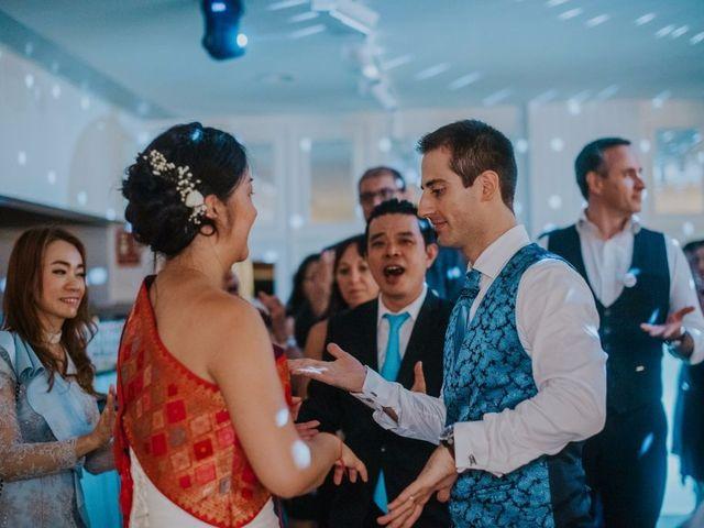 La boda de Alexis y Vanida en Arenys De Mar, Barcelona 74