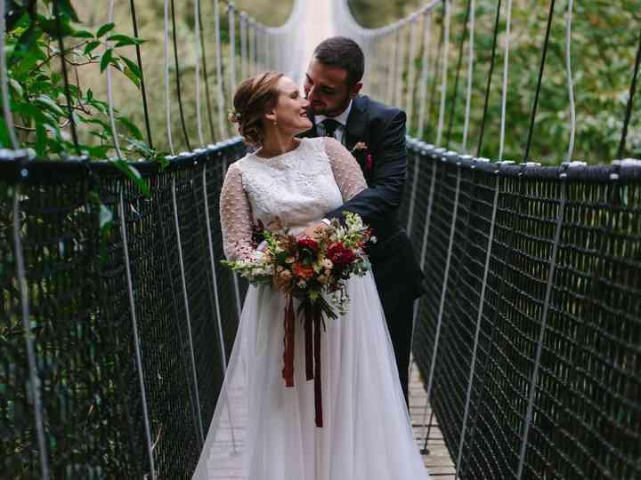 La boda de Eluska y Aitor