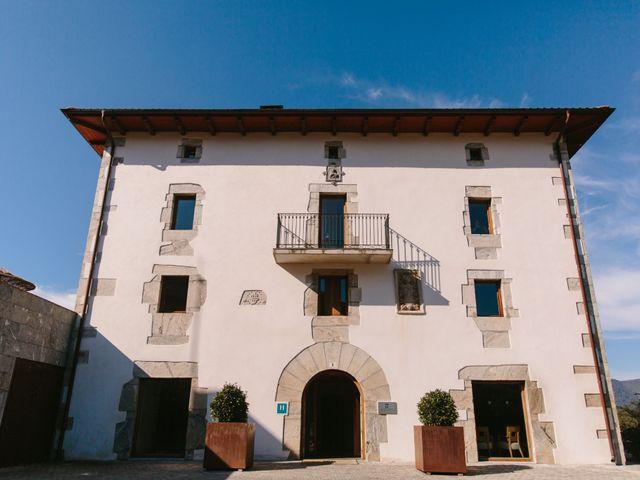La boda de Aitor y Eluska en Yanci/igantzi, Navarra 1