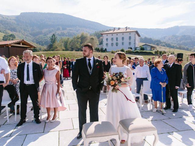 La boda de Aitor y Eluska en Yanci/igantzi, Navarra 22