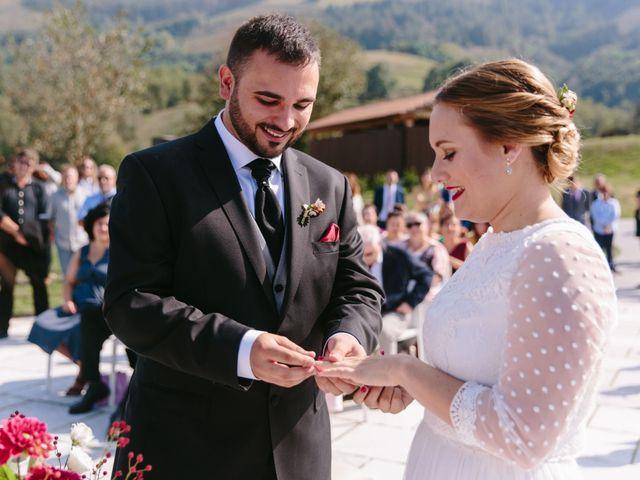 La boda de Aitor y Eluska en Yanci/igantzi, Navarra 33