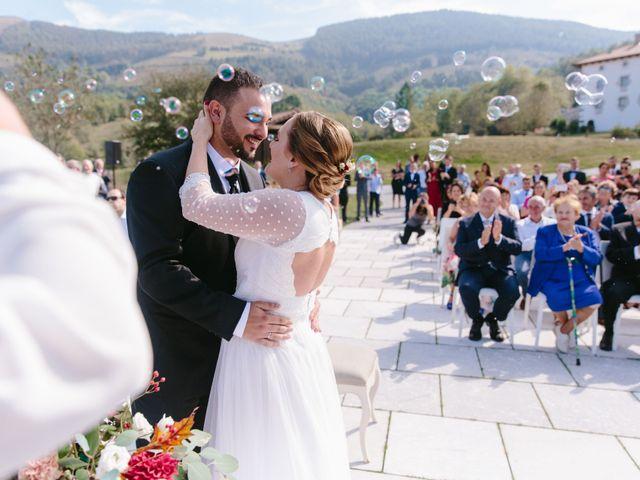 La boda de Aitor y Eluska en Yanci/igantzi, Navarra 35