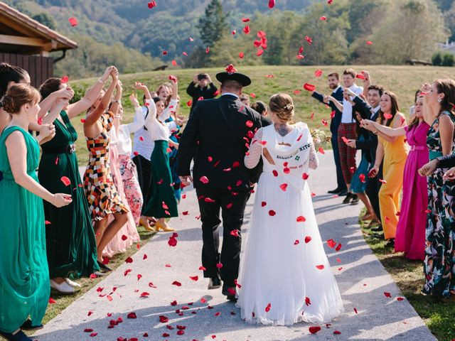 La boda de Aitor y Eluska en Yanci/igantzi, Navarra 37