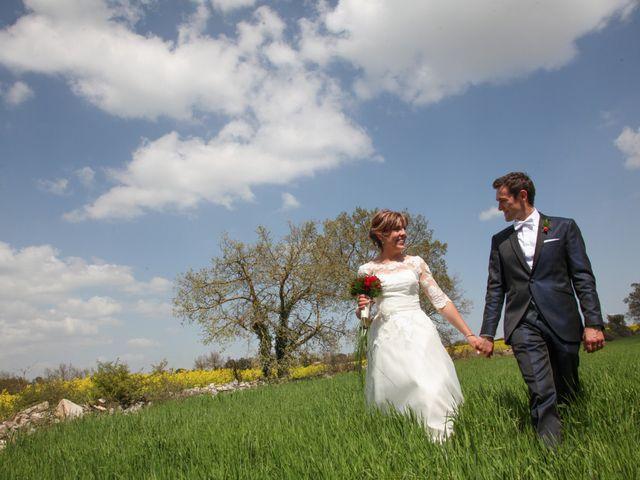 La boda de Roger y Sandra en Bellvis, Lleida 1