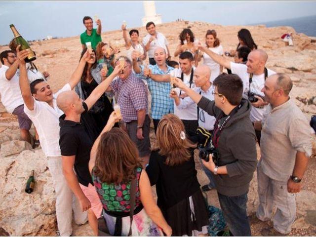 La boda de Héctor y Elisabet en Sant Francesc De Formentera, Islas Baleares 2