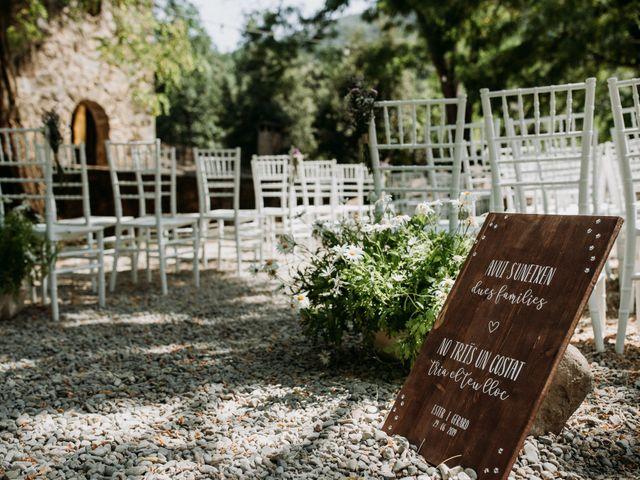 La boda de Gerard y Esther en Pujarnol, Girona 15