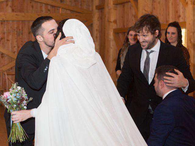La boda de Jorge y Oiane en Santa Gadea Del Cid, Burgos 33