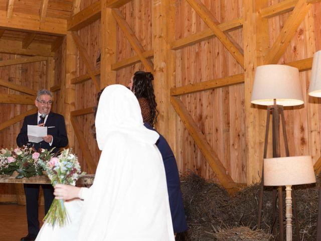 La boda de Jorge y Oiane en Santa Gadea Del Cid, Burgos 35
