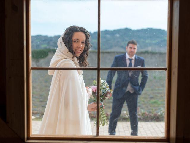 La boda de Jorge y Oiane en Santa Gadea Del Cid, Burgos 53
