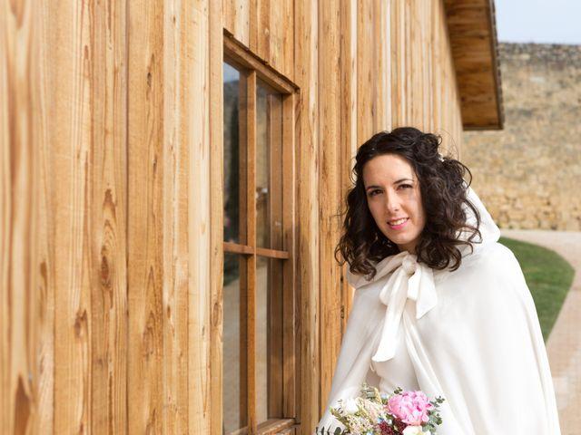La boda de Jorge y Oiane en Santa Gadea Del Cid, Burgos 54