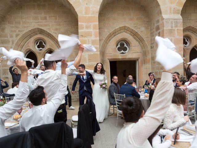 La boda de Jorge y Oiane en Santa Gadea Del Cid, Burgos 75