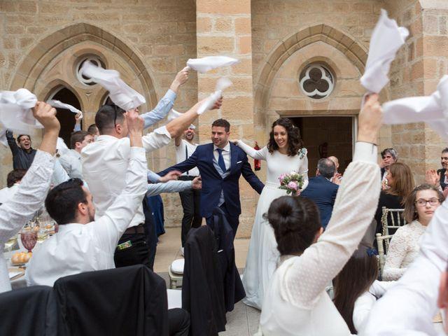 La boda de Jorge y Oiane en Santa Gadea Del Cid, Burgos 76