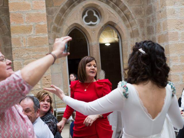 La boda de Jorge y Oiane en Santa Gadea Del Cid, Burgos 79