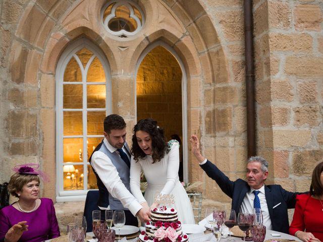 La boda de Jorge y Oiane en Santa Gadea Del Cid, Burgos 82