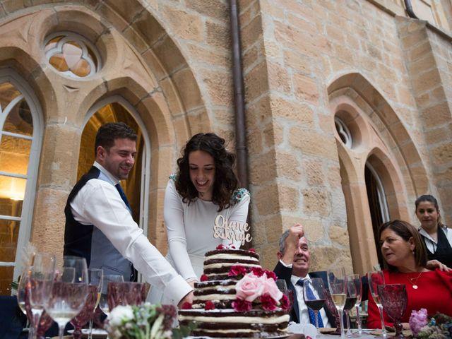 La boda de Jorge y Oiane en Santa Gadea Del Cid, Burgos 83