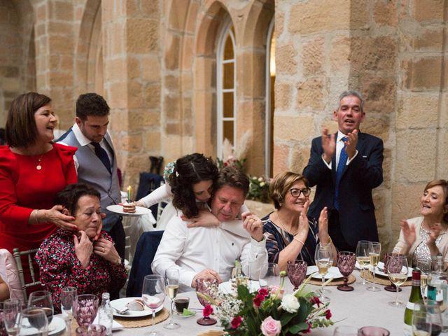 La boda de Jorge y Oiane en Santa Gadea Del Cid, Burgos 86