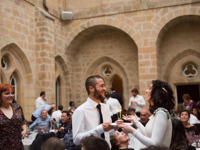La boda de Jorge y Oiane en Santa Gadea Del Cid, Burgos 87