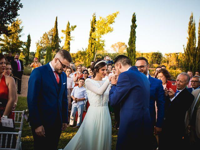 La boda de Francisco y María en Corte De Peleas, Badajoz 15