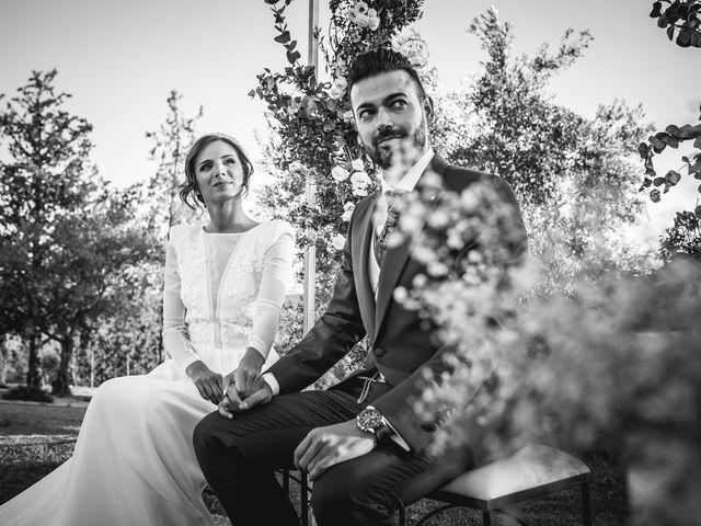 La boda de Francisco y María en Corte De Peleas, Badajoz 17