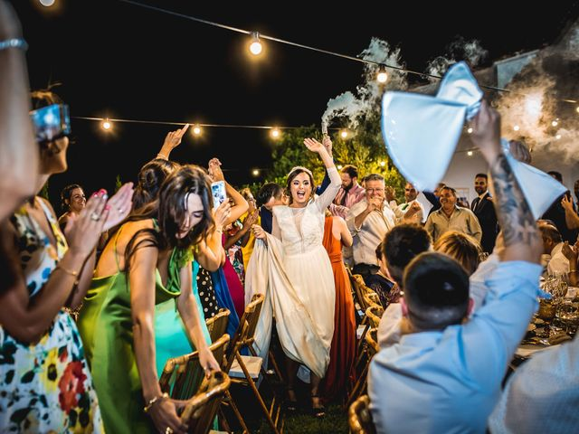 La boda de Francisco y María en Corte De Peleas, Badajoz 54
