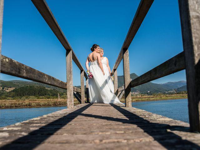 La boda de Iraia y Ainara