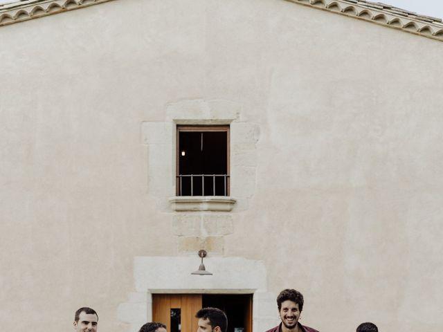 La boda de Adrià y Andrea en Pueblo Sant Andreu Salou, Girona 3