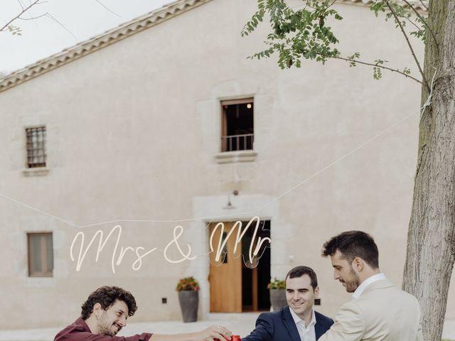 La boda de Adrià y Andrea en Pueblo Sant Andreu Salou, Girona 5