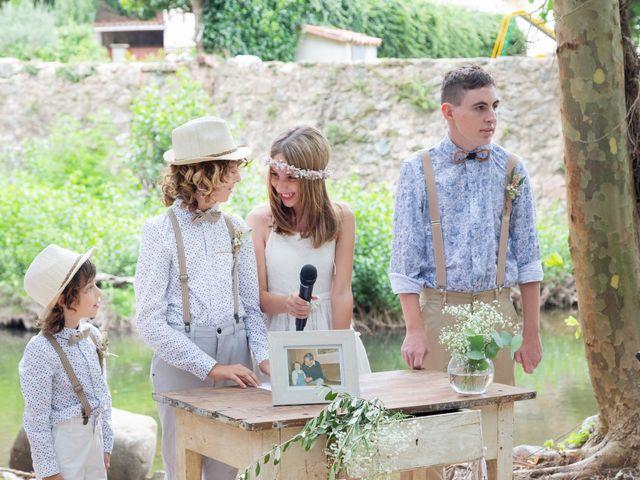 La boda de Anna y David en Osor, Girona 34