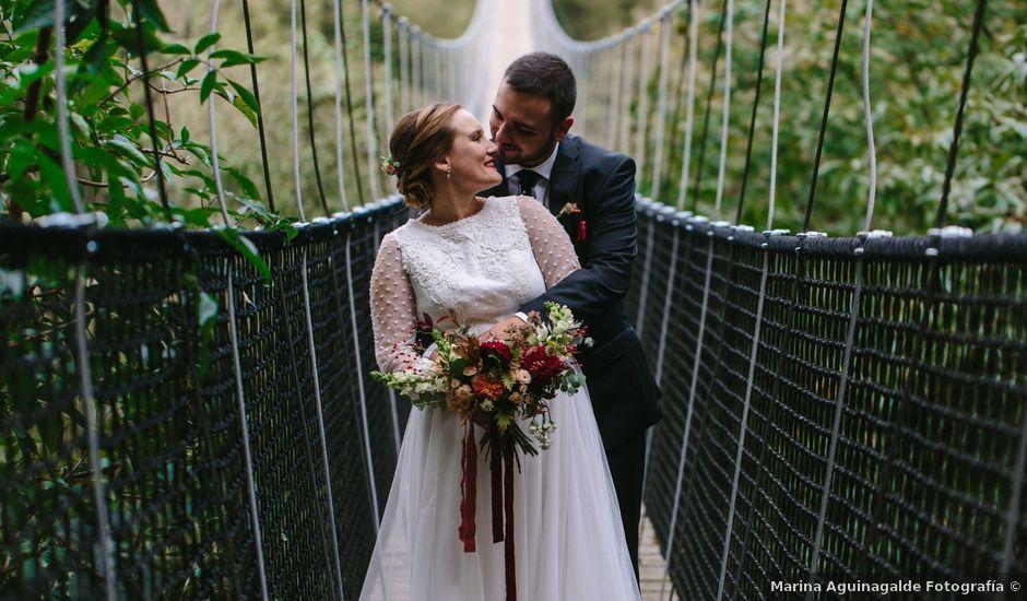 La boda de Aitor y Eluska en Yanci/igantzi, Navarra