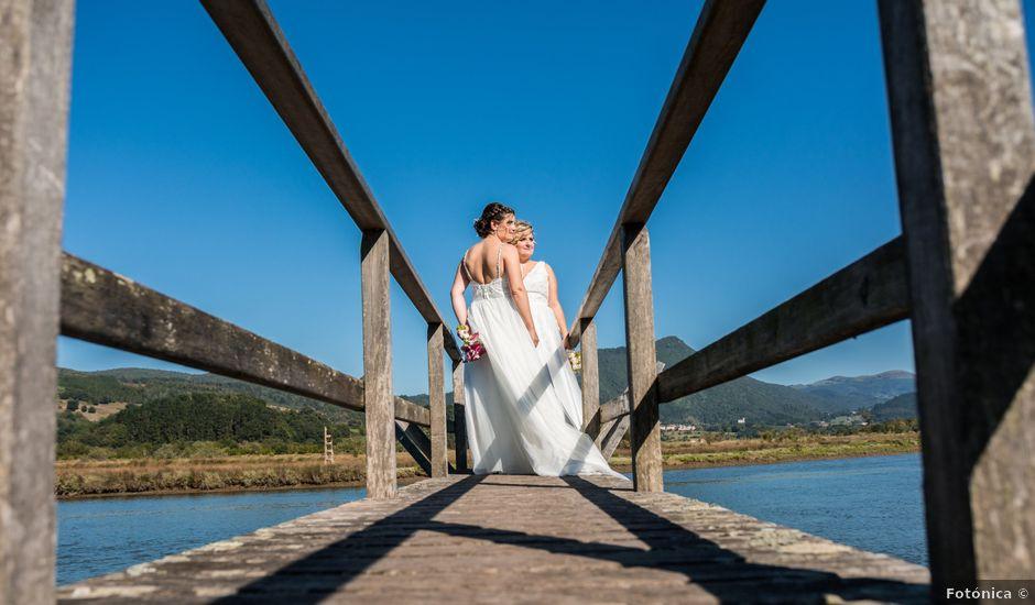 La boda de Ainara y Iraia en Forua, Vizcaya
