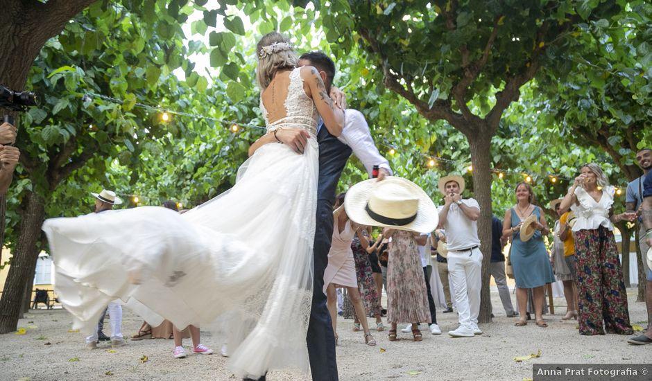 La boda de Anna y David en Osor, Girona
