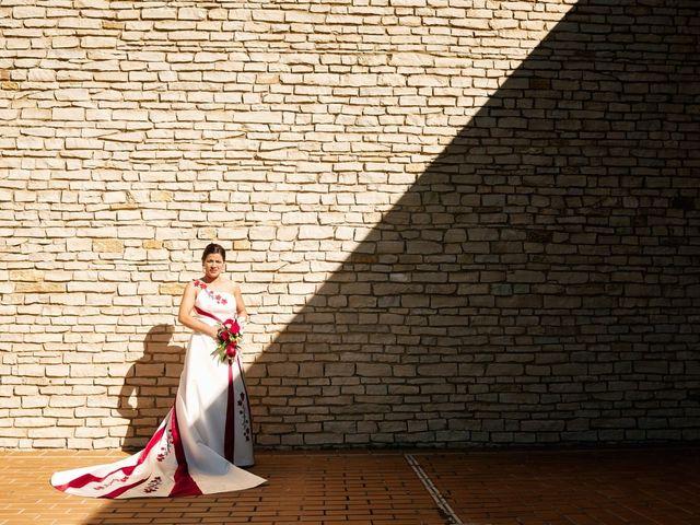 La boda de Omar y Ana Isabel en Fuenmayor, La Rioja 19
