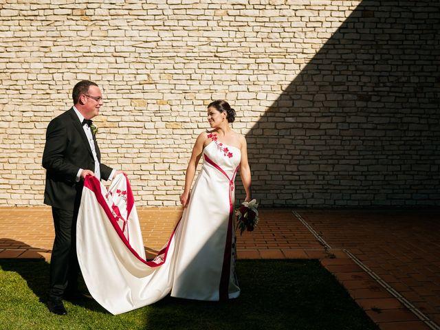 La boda de Omar y Ana Isabel en Fuenmayor, La Rioja 21