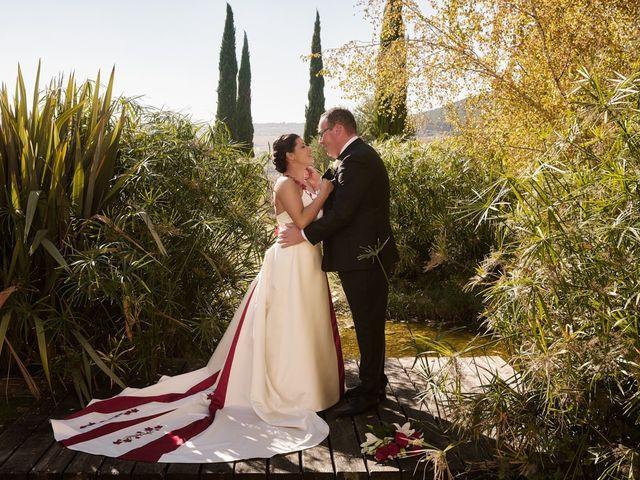 La boda de Omar y Ana Isabel en Fuenmayor, La Rioja 25
