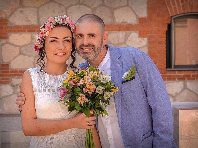 La boda de Luis y Luza en Fresnedilla De La Oliva, Madrid 2