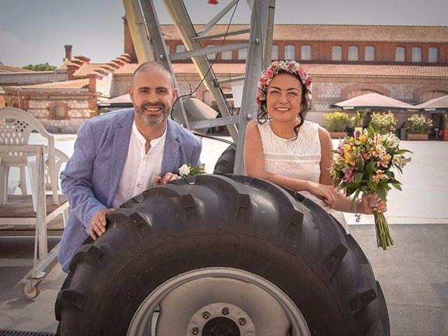 La boda de Luis y Luza en Fresnedilla De La Oliva, Madrid 10
