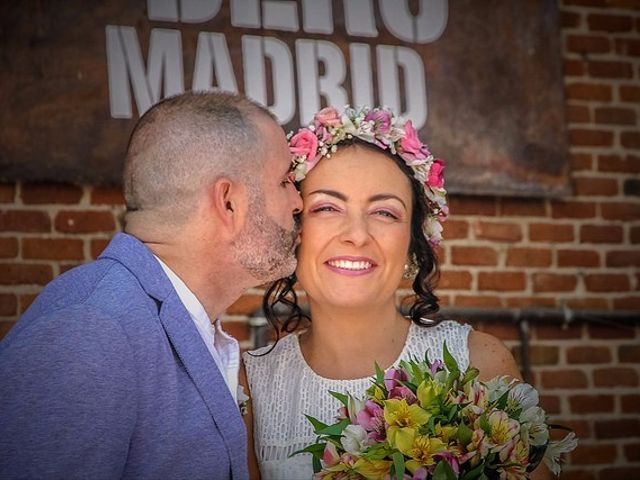 La boda de Luis y Luza en Fresnedilla De La Oliva, Madrid 17