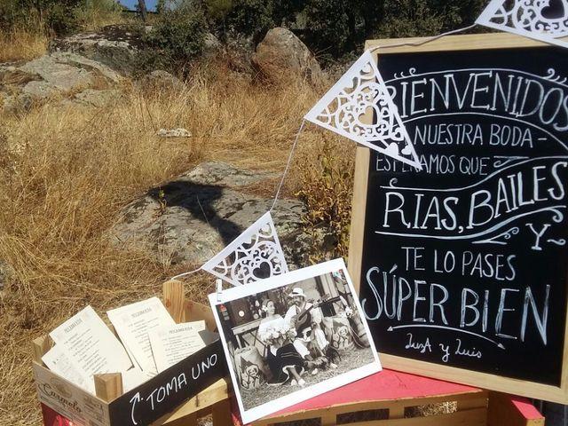 La boda de Luis y Luza en Fresnedilla De La Oliva, Madrid 27
