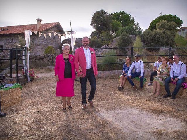 La boda de Luis y Luza en Fresnedilla De La Oliva, Madrid 37