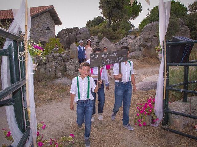 La boda de Luis y Luza en Fresnedilla De La Oliva, Madrid 41
