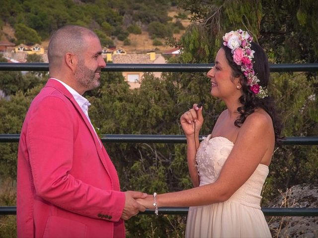 La boda de Luis y Luza en Fresnedilla De La Oliva, Madrid 45